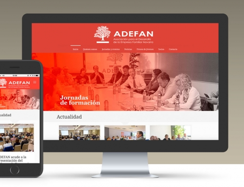 ADEFAN | Sitio web corporativo