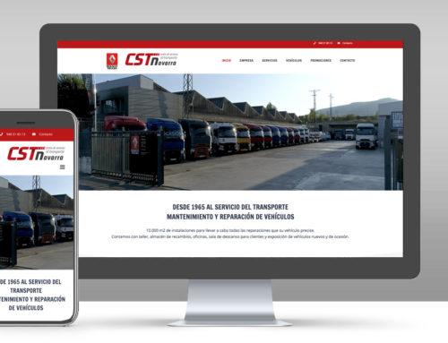 CST Navarra | Web corporativa