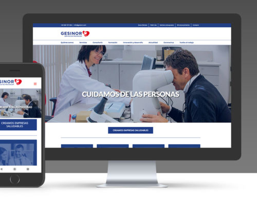 Gesinor | Web corporativa